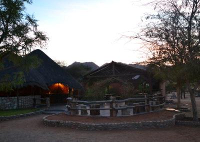 Alba al Solitaire Desert Farm - Diario di viaggio in Namibia