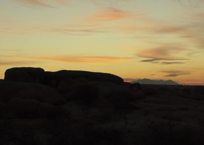 Alba Spitzkoppe - Diario di viaggio in Namibia