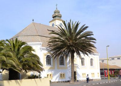 Swakopmund Chiesa Evangelica - Diario di viaggio in Namibia