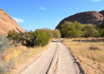 Pista Ameib Ranch - Diario di viaggio in Namibia