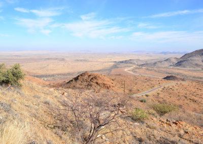 Passo di Spreethotsge - Diario di viaggio in Namibia