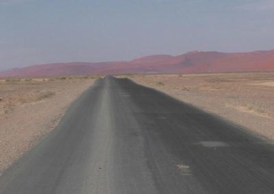 Strada Sossusvlei - Diario di viaggio in Namibia
