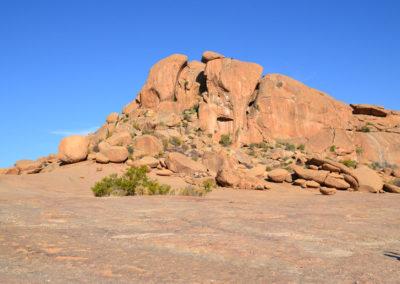 Elephant Head Rock - Diario di viaggio in Namibia