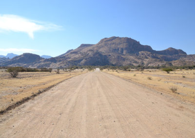 Strada Erongo Spitzkoppe - Diario di viaggio in Namibia
