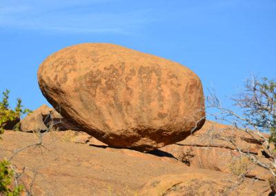 Rock-Art Ameib-Ranch - Diario di viaggio in Namibia