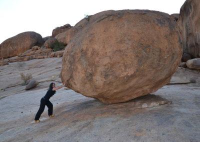 Formazione rocciosa a Bull's-Party Ameib-Ranch - Diario di viaggio in Namibia