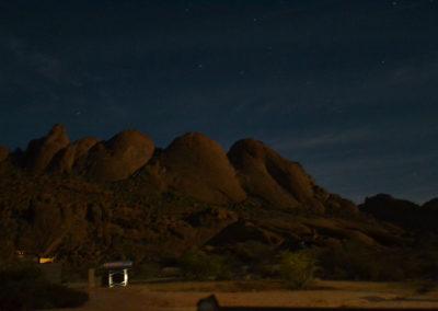 Sera Spitzkoppe-Damaraland - Diario di viaggio in Namibia