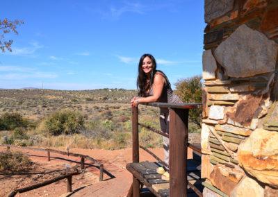 Airport Lodge Windhoek - Diario di viaggio in Namibia