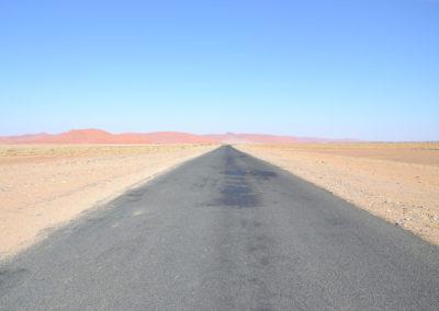 Strada per sossusvlei - Diario di viaggio in Namibia