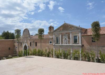 Ingresso Certosa di San Lorenzo a Padula