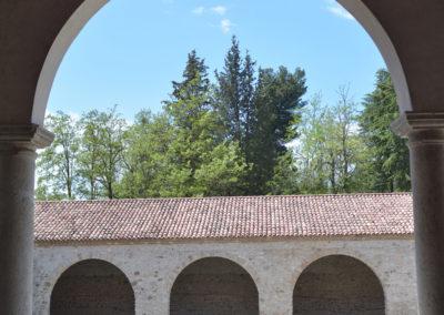 La corte della spezieria alla Certosa di San Lorenzo a Padula