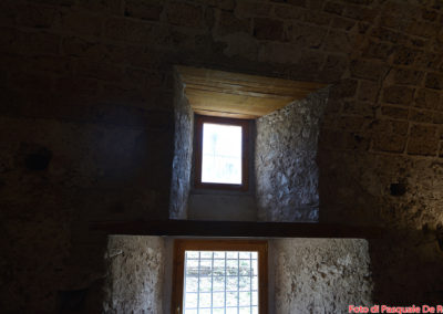 I magazzini per le derrate alimentari Scala a chiocciola senza sostegno centrale alla Certosa di San Lorenzo a Padula