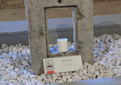 La candela delle celle dei monaci di clausura alla Certosa di San Lorenzo a Padula
