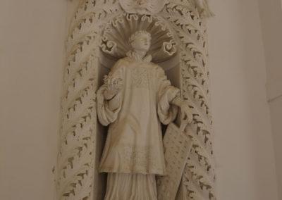 Statua nella Certosa di San Lorenzo di Padula
