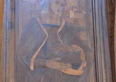 Quadro nella Certosa di San Lorenzo di Padula