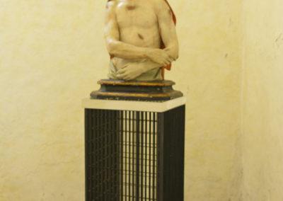 Busto di Cristo nella Casa Alta della Certosa di San Lorenzo a Padula