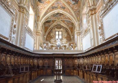 La chiesa nella Casa Alta della Certosa di San Lorenzo a Padula