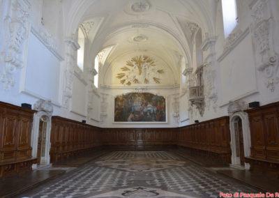 Cappella nella casa alta della Certosa di San Lorenzo a Padula