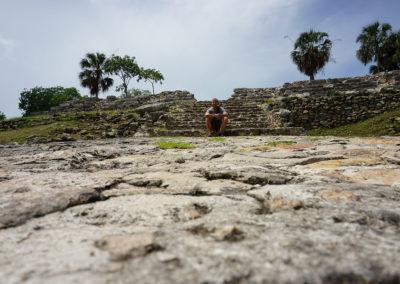 Piramide di Kinich Kak Moo - Izamal - Diario di viaggio in Messico