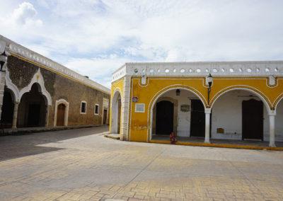 Calle tipica di Izamal - Diario di viaggio in Messico