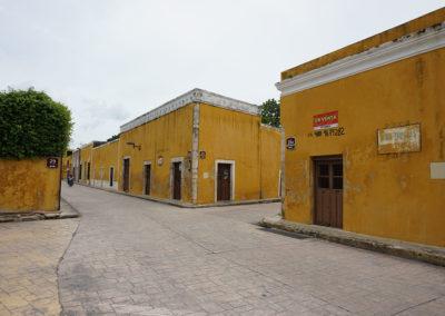 Calle tipica di Izamal - Diario di viaggio in Messico -