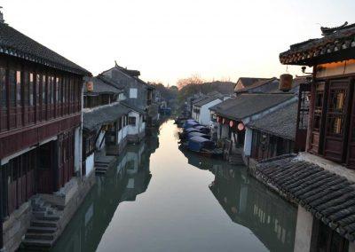 Alba-al-villaggio-di Zhouzhuang