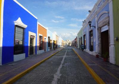 Calle-tipica-di-Campeche- Diario di viaggio in Messico