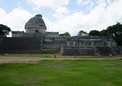 Chichen-Itza-Observatorio-El-Caracol - Diario di viaggio in Messico
