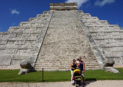 Chichen-Itza Piramide-di-Kukulkan-(El-Castillo) - Diario di viaggio in Messico