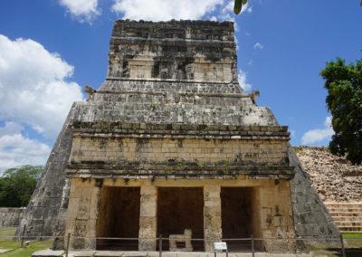 Chichen-Itza Tempio-dei-Giaguari - Diario di viaggio in Messico