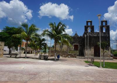 Chiesa-coloniale-Pueblo-messicano- Diario di viaggio in Messico