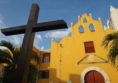 Chiesa-di-San-Roque-Campeche- Diario di viaggio in Messico