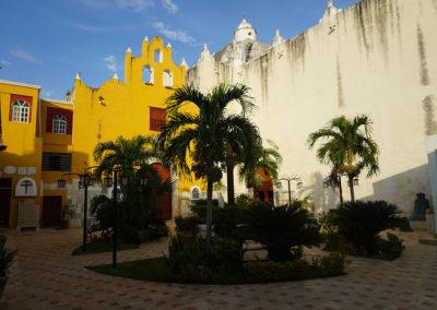 Chiesa-di-San-Roque-Campeche - Diario di viaggio in Messico