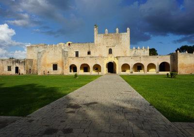 Convento-di-San-Bernardino-da-Siena-Valladolid - Diario di viaggio in Messico