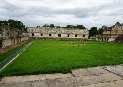 Cuadrangolo de las Monjas Uxmal - Sito-archeologico-Edzna - Diario di viaggio in Messico