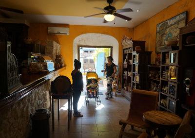 El-Antigo-Cafè-del-San-Francisco- Campeche- Diario di viaggio in Messico