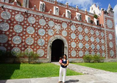 Ex-Convento di Santiago Domingo Uayama Diario di viaggio in Messico