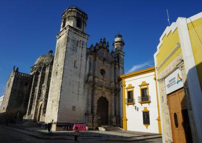 Ex-templo-de-San-Jose-Campeche- Diario di viaggio in Messico