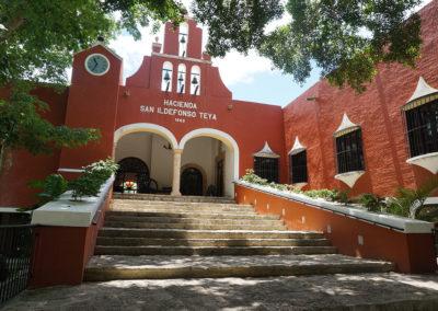 Hacienda-San-Ildefonso-Teya -Diario di viaggio in Messico