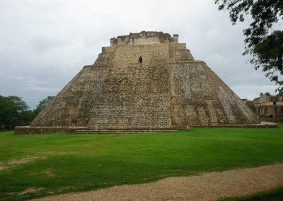 Piramide del Adivino Uxmal -Sito-archeologico-Edzna - Diario di viaggio in Messico