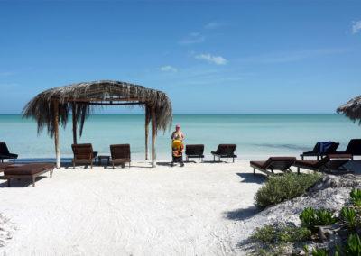 Playa-de-Holbox-vicino-al-Ristorante-Mariscos-Holbox---Diario-di-viaggio-in-Messico
