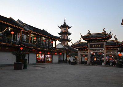 Porta-d'ingresso-Zhouzhuang