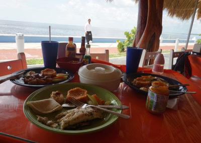 Ristorante-Los-Delfinos-Campeche- Diario di viaggio in Messico