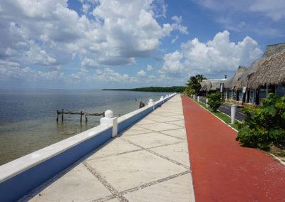 Ristorante-Los-Delfinos-Campeche - Diario di viaggio in Messico