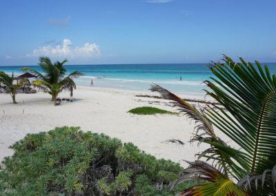 Spiaggia-e-mare-Tulum 2- Diario di viaggio in Messico