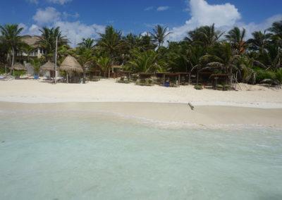 Spiaggia-mare-posada - Tulum - Diario ci viaggio in Messico