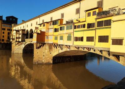 Ponte vecchio all'alba - 3 giorno a Firenze