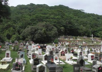Cimitero La Digue - Diario di viaggio alle Seichelles