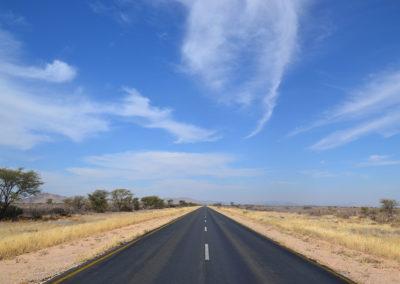 Strada da Windhoek per Waterberg - Diario di viaggio in Namibia