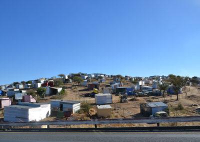 Baraccopoli Katutura-Windhoek - Diario di viaggio in Namibia